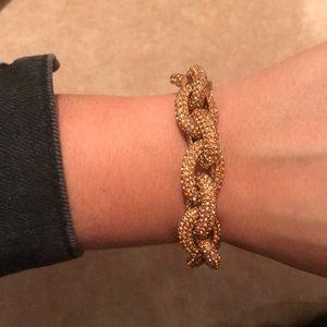 BaubleBar Peach Pave Bracelet